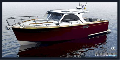 best semi displacement boat new boat design blog powecats multihulls dive boats glass