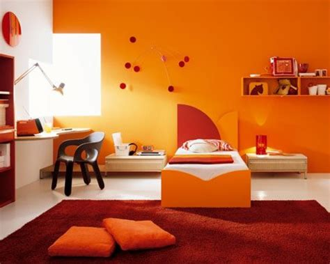 orange bedroom decor home design page 201 cute orange paint color wall