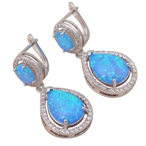 blue opal earrings blue opal jewelry imgkid com the image kid has it