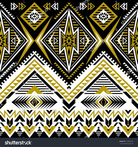 abstract aztec pattern tribal navajo seamless pattern aztec abstract stock vector