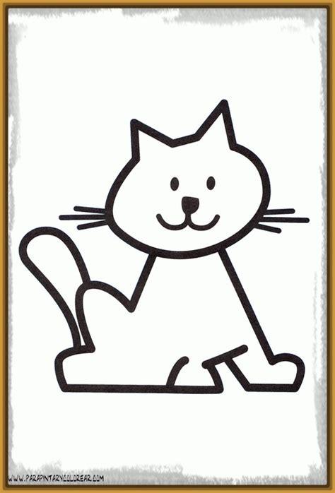 Imagenes Infantiles Gatos | dibujos infantiles de gatos a color archivos dibujos de