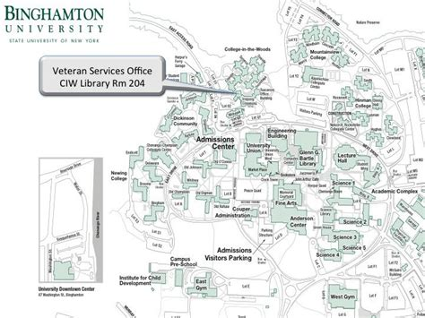 binghamton map binghamton veteran services location
