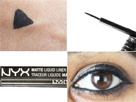 Nyx Liquid Liner nyx matte liquid liner review swatches
