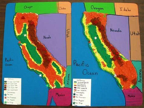 california regions map key best 25 california regions ideas on latitude