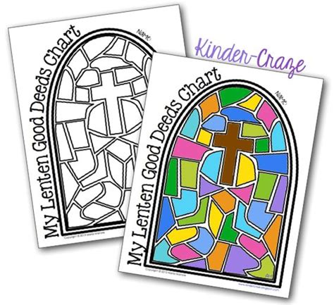 lent coloring pages kindergarten sharing lenten love with good deeds coloring charts and
