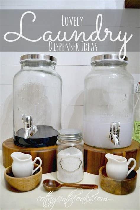 decorative bottles for laundry detergent laundry room decor dispenser ideas creative jars