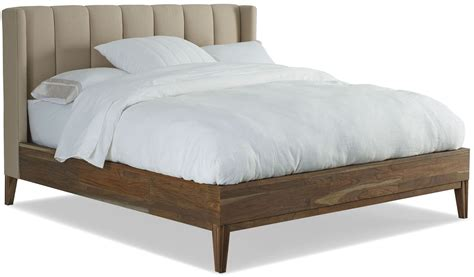 King Upholstered Platform Bed Sepia Cal King Upholstered Platform Bed Cw 119 Brownstone