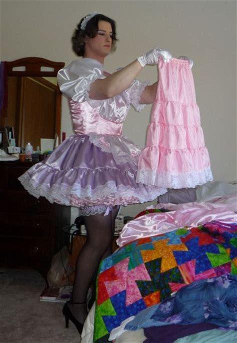 forced to wear dress petticoat diaper braids 707 best chiffonhuren images on pinterest