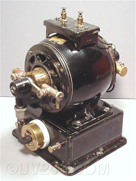 Vintage Electric Motor by Antique Electric Motor Generator Victor Electric Company
