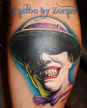 cartoon jester tattoo joker face leg tattoo image tattoo from itattooz