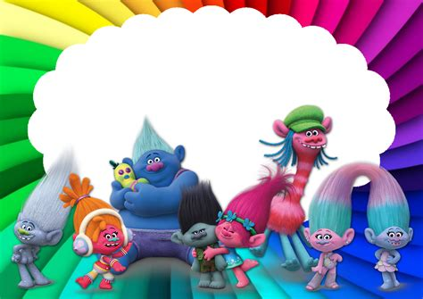 imagenes png troll trolls rainbow background pictures to pin on pinterest