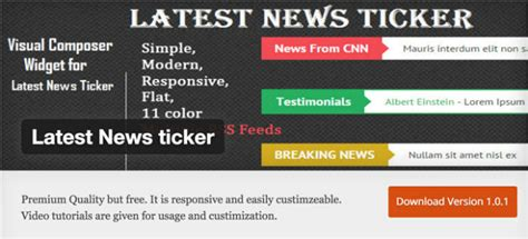 membuat newsticker wordpress 10 cool free wordpress plugins of september 2016 noupe