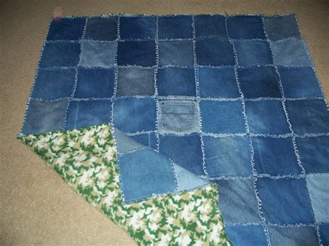 How To Wear A Quilt And Not Look Stupid by Crafty Cer My Favorite Denim Quilt Tutorial Part 2