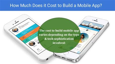 how much does it cost to build a house how much does it cost to build a mobile app for iphone