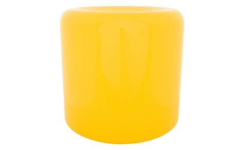 vintage yellow stool jayson home