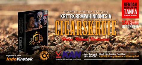 Kretek Rempah Cigarskruie Ck cigarskruie rokok kretek rempah indonesia