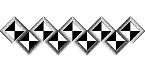 geometric pattern borders free vector graphic african border geometric pattern