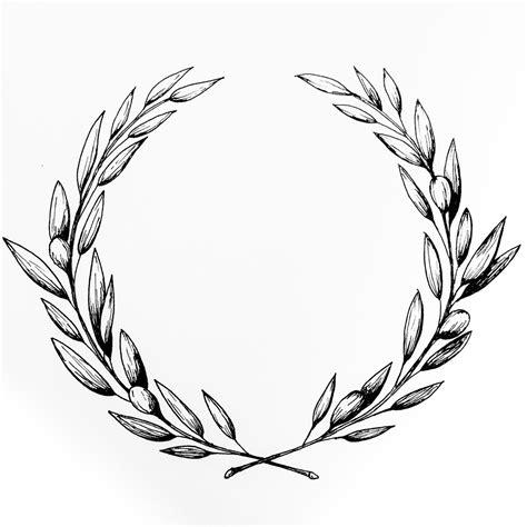 olive wreath illustration amy rochelle press