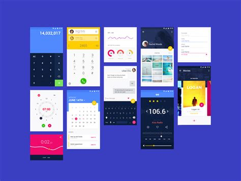 material design mockup psd material ui kit psd free psds sketch app resources for
