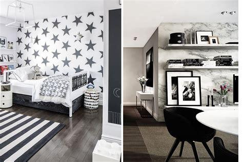 design fads monochrome home black and white wallpaper fads blogfads