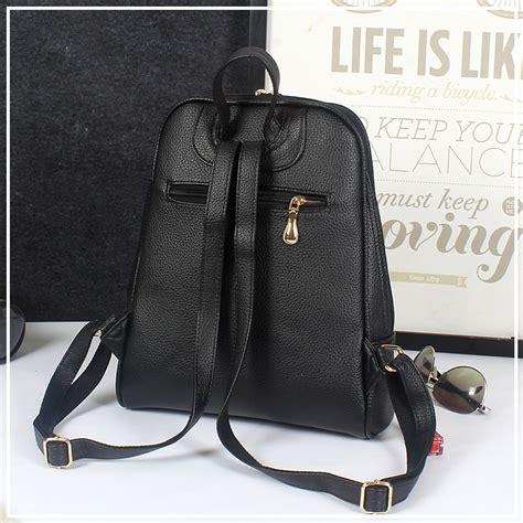Tas Notebook Wanita tas ransel wanita preppy style black jakartanotebook
