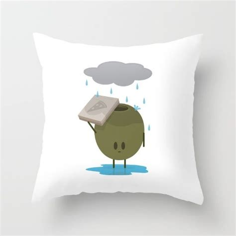 Lonely Pillow by Olive The Lonely Throw Pillow Olives Pizza And
