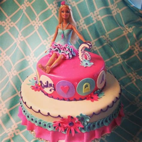 doll design birthday cake another cute barbie doll cake i think i like this one
