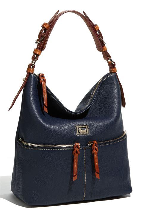 Anoushka Leather Wrap Hobo by Dooney Bourke Dillen Pocket Sac Medium Leather Hobo In