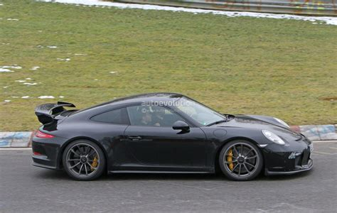 new porsche 911 2018 2018 porsche 911 gt3 spied testing at the nurburgring