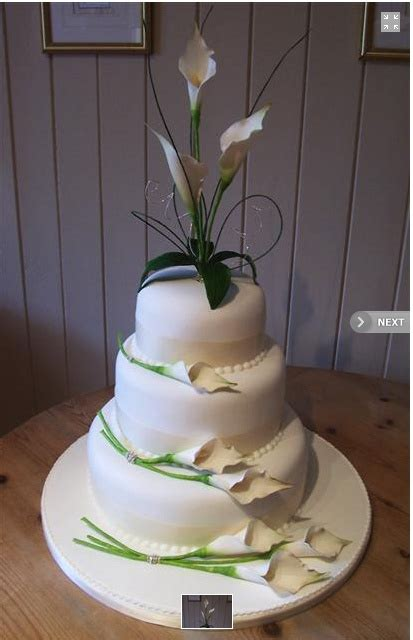 Hochzeitstorte Calla by Lilly Cake Cakes Cakes