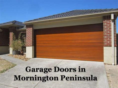 Garage Doors Mornington Peninsula Peninsula Overhead Doors