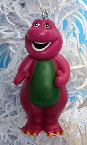 barney christmas ornaments featuring 4 barney ornaments