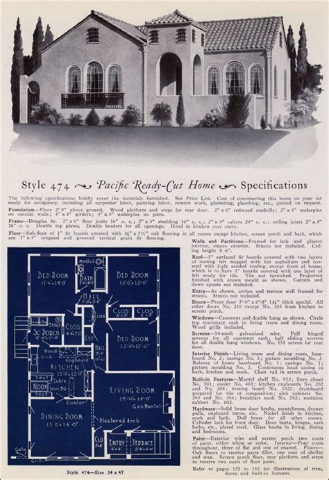 1930s Kitchen Design 1925 california spanish revival house pacific ready cut