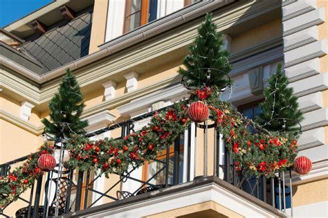 Weihnachtsdeko Fenster Mit Strom by Weihnachtsdeko F 252 R Den Balkon 187 Sch 246 Ne Ideen
