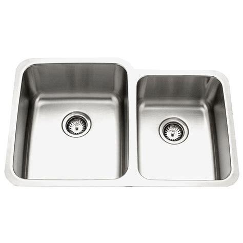 Houzer Kitchen Sink Houzer Medallion Gourmet Series Undermount Stainless Steel 32 In 0 Bowl Kitchen