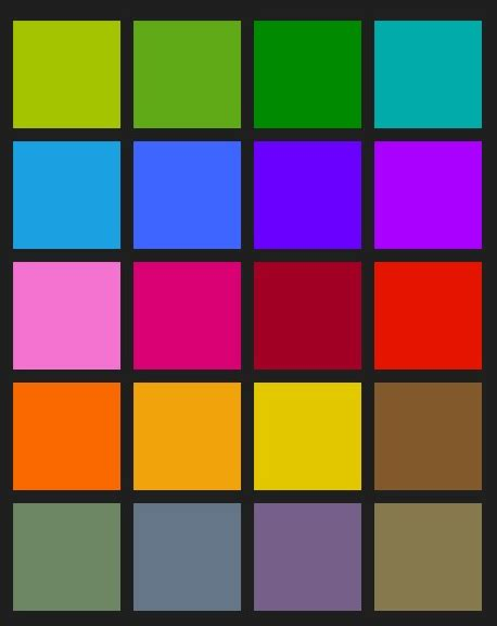 grid color windows phone 8 dev creating a basic color swatch