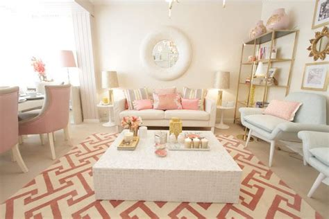 pink and gold living room pink gold room home