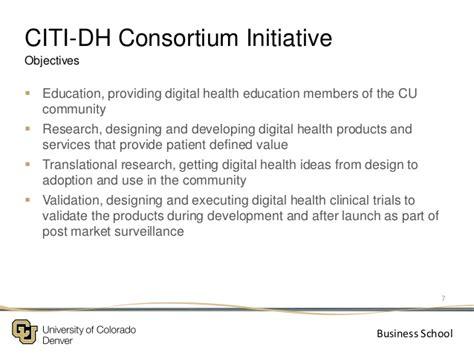 Uwl System Mba Consortium by The Ucd Business School Citi Digital Health Consortium