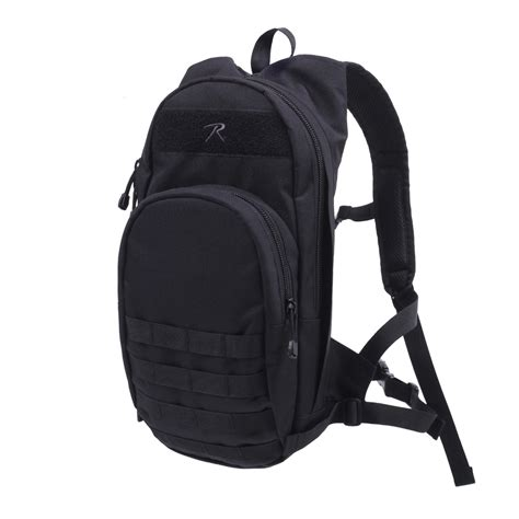 black molle backpack black quickstrike tactical hydration compatible