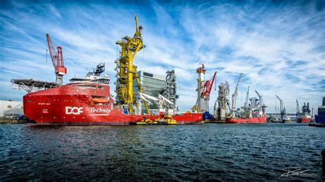 professionele fotograaf voor de mooie beelden in de port - Schepen In Rotterdam