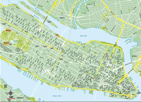 mapa nyc nueva york mapas