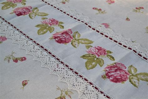 Handmade Tablecloths - handmade tablecloth in linen blend bocciolo tablecloths