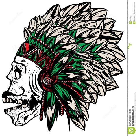 native american indian chief headdress t shirt graphics