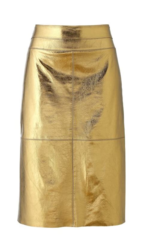shintex gold leather skirt leather4sure leather skirts