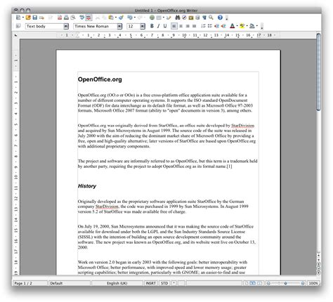 Open Office Mac by Openoffice A Free Office Suite 171 Sofotex