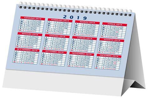 calendari da tavolo sta calendari da tavolo 2019 rosso personalizzati 0 26