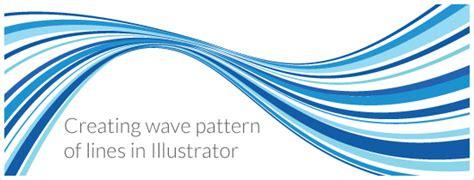 illustrator pattern wave creating a wave pattern of lines in illustrator jayhan