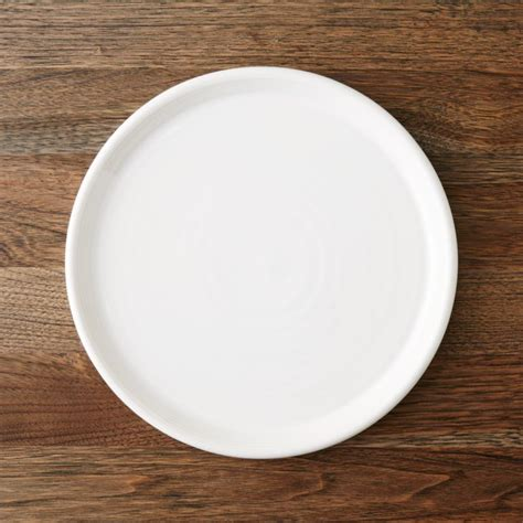 farmhouse white dinner plate reviews crate  barrel