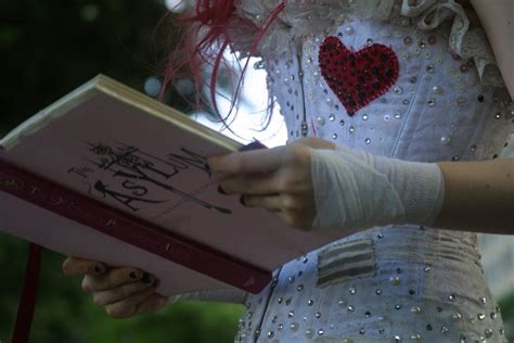 the asylum for wayward books emilie autumn bookreading3 by misscrumpledcrumpets on