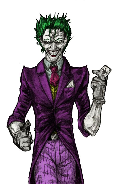 the joker colors the joker color by rayluaza on deviantart